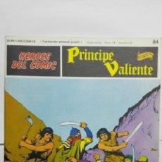 Cómics: HEROES DEL COMIC - PRINCIPE VALIENTE Nº 84, EDICIONES BURU LAN. Lote 146752454