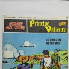 Cómics: HEROES DEL COMIC - PRINCIPE VALIENTE Nº 87, EDICIONES BURU LAN. Lote 146752542