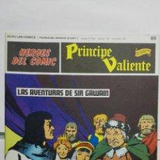 Cómics: HEROES DEL COMIC - PRINCIPE VALIENTE Nº 89, EDICIONES BURU LAN. Lote 146752606