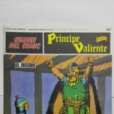 Cómics: HEROES DEL COMIC - PRINCIPE VALIENTE Nº 90, EDICIONES BURU LAN. Lote 146752702