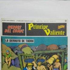 Cómics: HEROES DEL COMIC - PRINCIPE VALIENTE Nº 91, EDICIONES BURU LAN. Lote 146752746