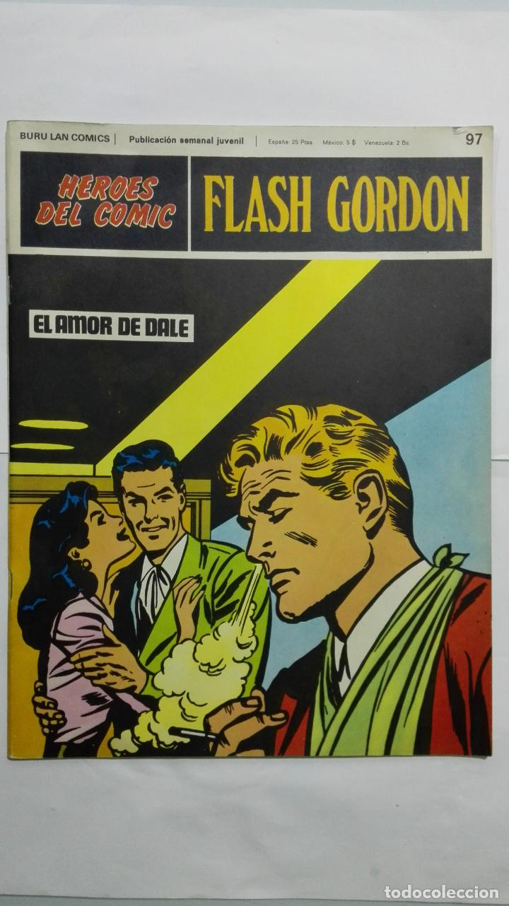 HEROES DEL COMIC - FLASH GORDON Nº 97, EDICIONES BURU LAN (Tebeos y Comics - Buru-Lan - Principe Valiente)