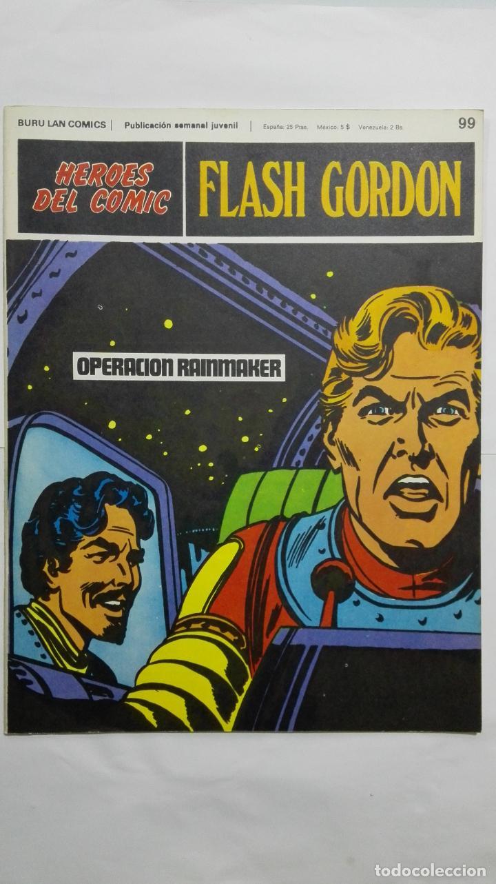 HEROES DEL COMIC - FLASH GORDON Nº 99, EDICIONES BURU LAN (Tebeos y Comics - Buru-Lan - Principe Valiente)