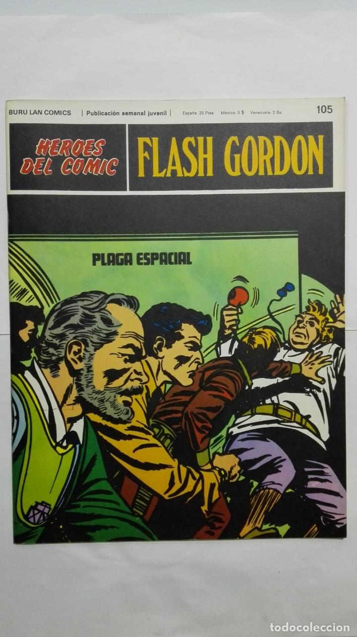 Cómics: HEROES DEL COMIC - FLASH GORDON Nº 105, EDICIONES BURU LAN - Foto 1 - 146753438