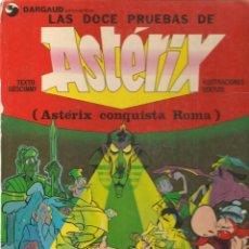 Cómics: LAS DOCE PRUEBAS DE ASTERIX. (ASTERIX CONQUISTA ROMA) GRIJALBO / DARGAUD 1980. (B/A11. Lote 146830302