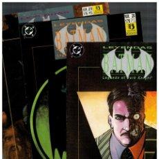Cómics: LEYENDAS DE BATMAN -ROSTROS- COMPLETA 3 NÚMEROS 27,28 Y 29. ZINCO. EXCELENTES.. Lote 147054358