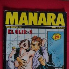 Cómics: MILO MANARA Nº 13 EL CLIC - 2 NEW COMIC 1993 TOTEM. Lote 147081446