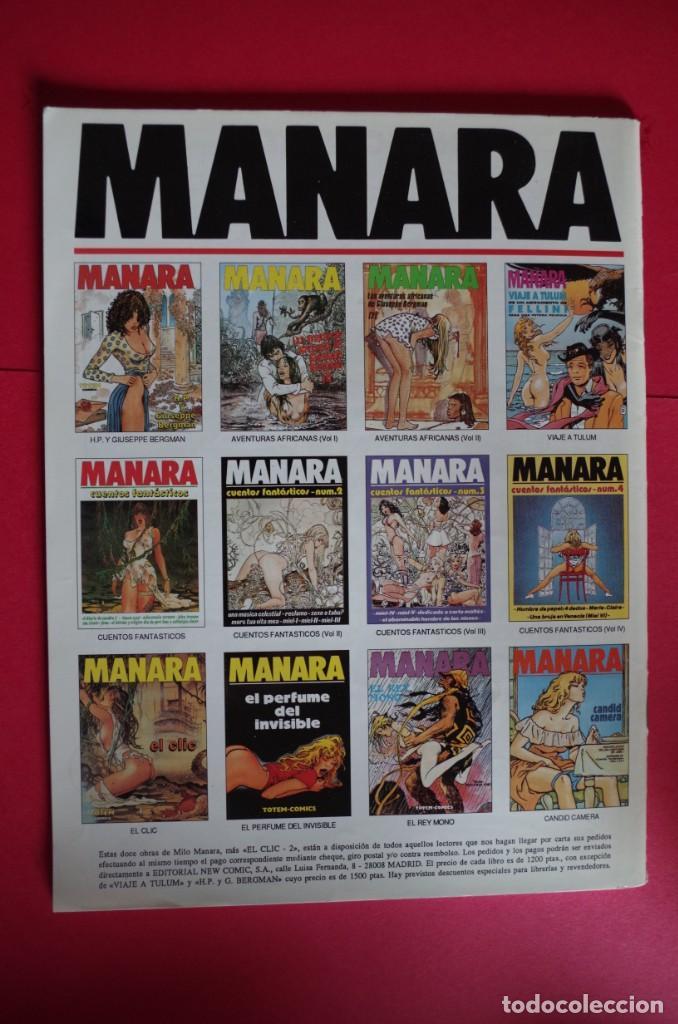 Cómics: MILO MANARA Nº 11 Y 12 LAS AVENTURAS ASIATICAS DE GIUSEPPE BERGMAN 1ª Y 2ª PARTE - NEW COMIC 1994 - Foto 2 - 147084334
