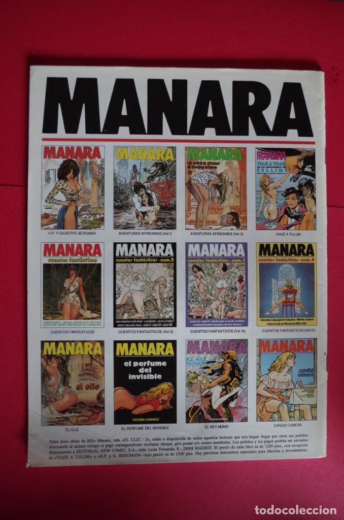 Cómics: MILO MANARA Nº 11 Y 12 LAS AVENTURAS ASIATICAS DE GIUSEPPE BERGMAN 1ª Y 2ª PARTE - NEW COMIC 1994 - Foto 4 - 147084334