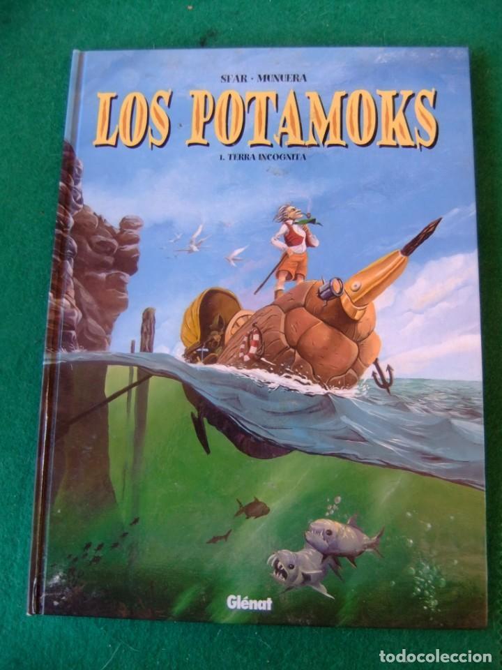 LOS POTAMOKS TOMO 1 TIERRA INCOGNITA GLENAT (Tebeos y Comics - Comics otras Editoriales Actuales)