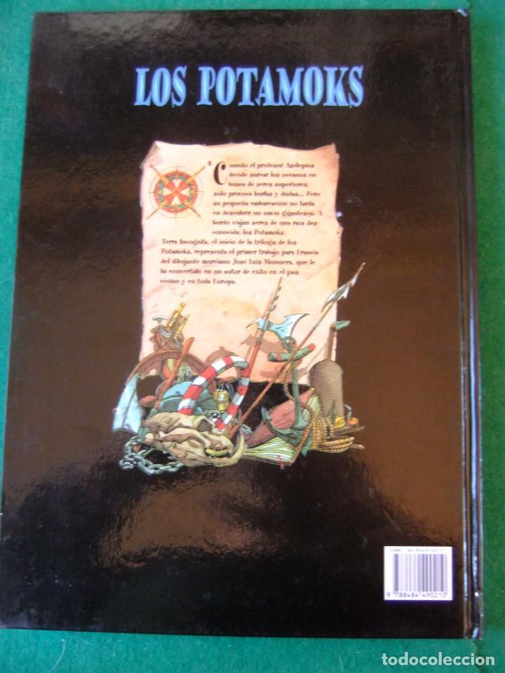 Cómics: LOS POTAMOKS TOMO 1 TIERRA INCOGNITA GLENAT - Foto 2 - 147151366