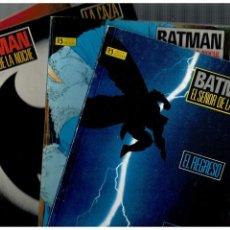 Cómics: BATMAN -EL SEÑOR DE LA NOCHE- COMPLETA 1 AL 4. ZINCO,1987. . Lote 147208394