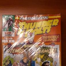 Cómics: THUNDERBOLTS PUBLICADO POR FORUM Y PANINI VOLUMEN I USA DEL 0 AL 174 (VER DESCRIPCIÓN). Lote 147221402