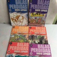 Cómics: BALAS PERDIDAS - LOTE DE 17 EJEMPLARES ( Nº 1 AL 14,16,19,20) / AUTOR : DAVID LAPHAM. Lote 22723100