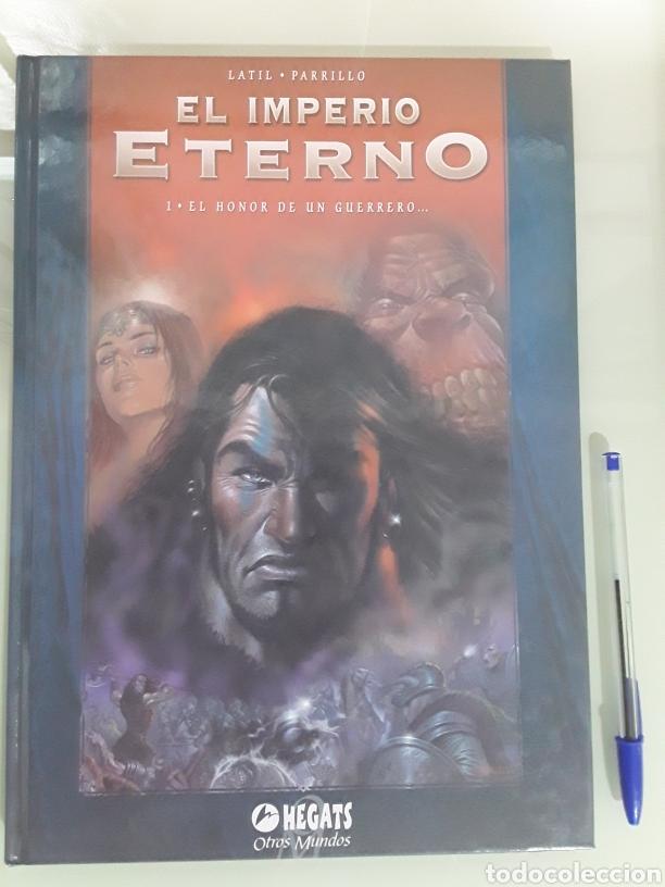 EL IMPERIO ETERNO N 1 EL HONOR DEL GUERRERO TAPA DURA, NUEVO. EDICIÓN 2005. ANTES 12€ (Tebeos y Comics Pendientes de Clasificar)