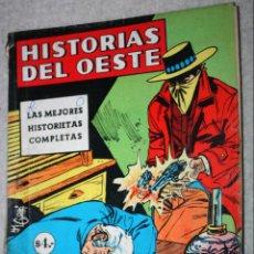 Cómics: HISTORIAS DEL OESTE ALBUM GIGANTE AÑO XI; Nº 52 (EDITORIAL OESTE , ARGENTINA AÑOS 60)-RAREZA_. Lote 147460466