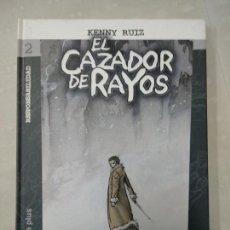 Cómics: EL CAZADOR DE RAYOS 2 . EDITORIAL DOLMEN. KENNY RUIZ . TAPA DURA.. Lote 147465526