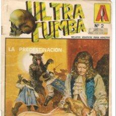 Cómics: ULTRA TUMBA. Nº 2. RELATOS GRÁFICOS PARA ADULTOS. EDITORIAL ASTRI. (B/A60). Lote 147559526