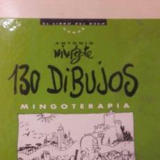 Cómics: ANTONIO MINGOTE 130 DIBUJOS MINGOTERAPIA PPC 1994. Lote 147564364