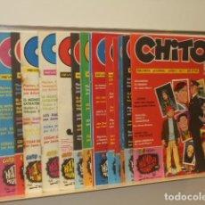 Cómics: CHITO LOTE Nº 1 AL 16 - ED. JUAN MARTI PAVON . Lote 147567254