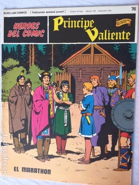 PRINCIPE VALIENTE Nº 76 - ED. BURU LAN (Tebeos y Comics - Buru-Lan - Principe Valiente)