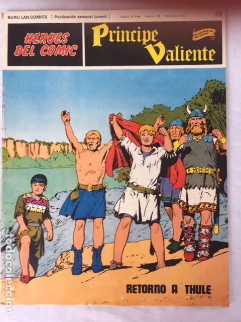 PRINCIPE VALIENTE Nº 78 (Tebeos y Comics - Buru-Lan - Principe Valiente)
