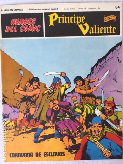 PRINCIPE VALIENTE Nº 84 (Tebeos y Comics - Buru-Lan - Principe Valiente)