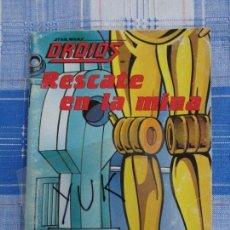 Comics: STAR WARS - DROIDS - CUENTO RESCATE EN LA MINA / PLAZA JOVEN AÑO 1986 . Lote 147604790
