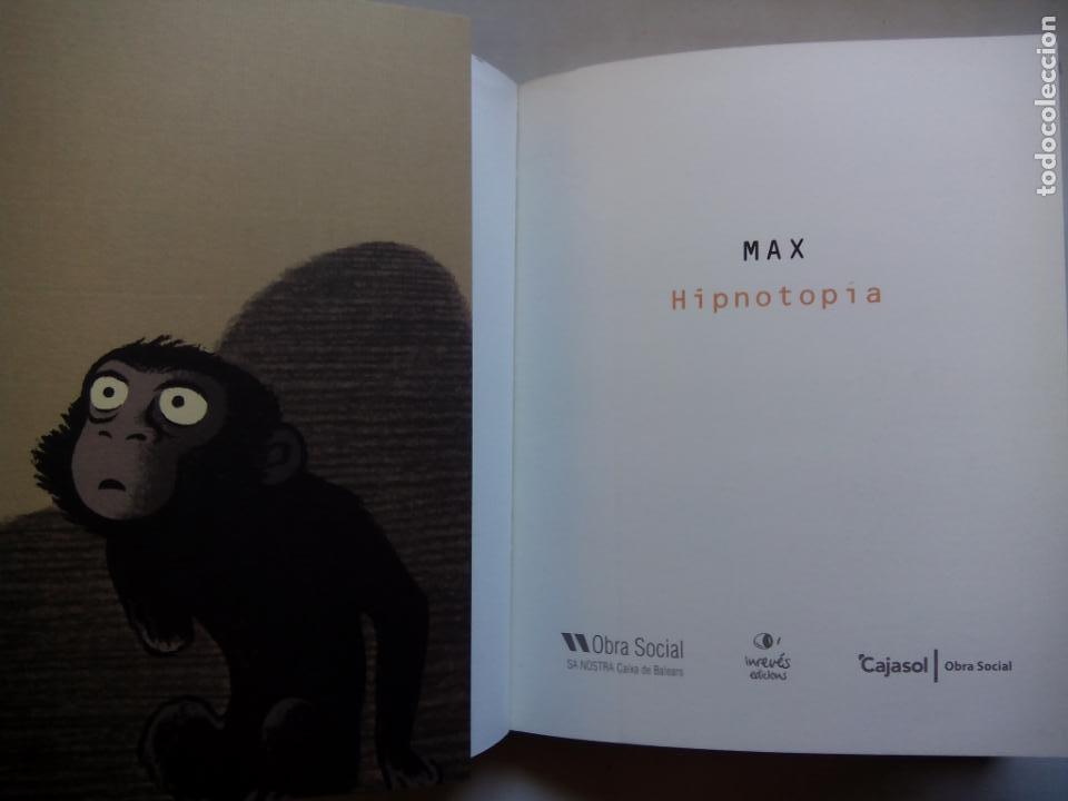 Cómics: MAX. HIPNOTOPÍA. OBRA SOCIAL SA NOSTRA. ESPAÑA 2008. - Foto 2 - 147606770