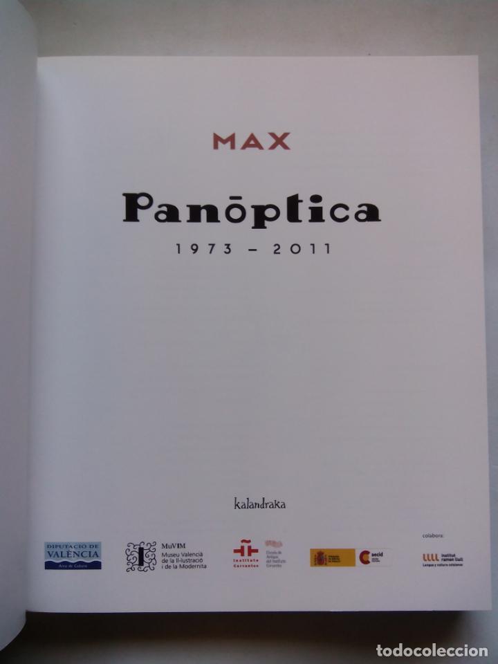 Cómics: MAX. PANÓPTICA. 1973 - 2011. KALANDRAKA EDITORA. ESPAÑA 2011. - Foto 2 - 147610906