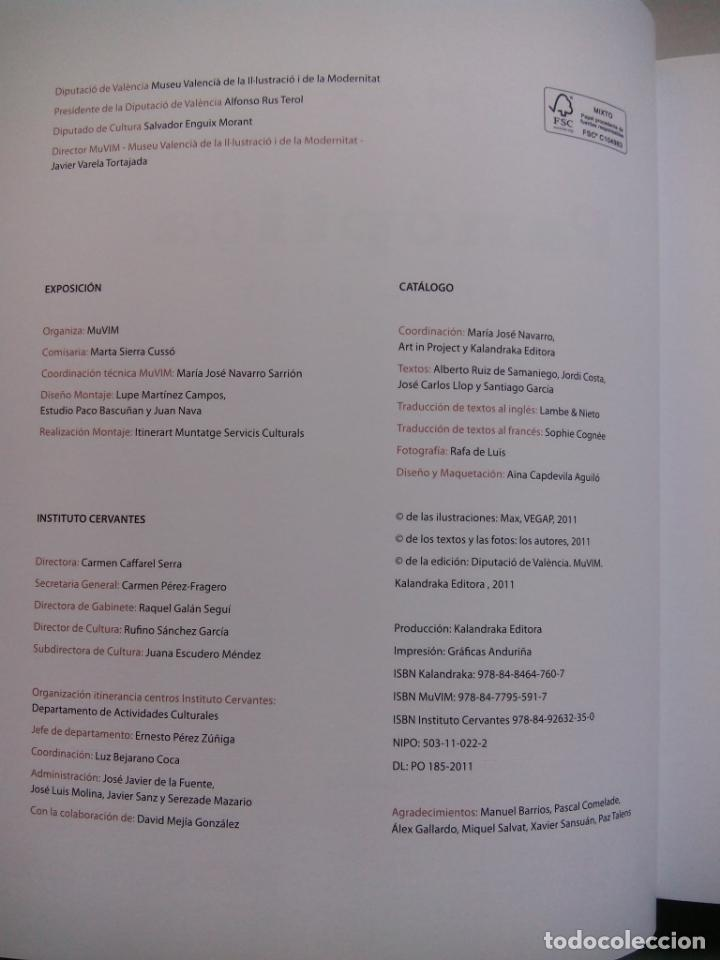 Cómics: MAX. PANÓPTICA. 1973 - 2011. KALANDRAKA EDITORA. ESPAÑA 2011. - Foto 3 - 147610906