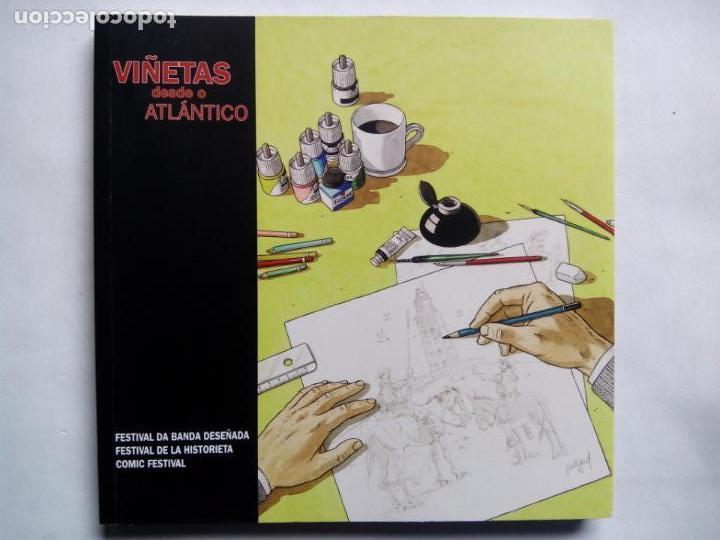 VIÑETAS DESDE O ATLÁNTICO 2010. FESTIVAL DA BANDA DESEÑADA A CORUÑA. WILL EISNER. CARLOS PACHECO. (Tebeos y Comics Pendientes de Clasificar)