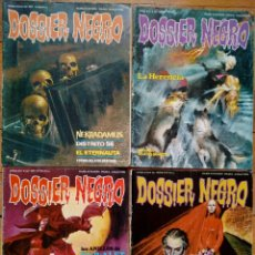 Cómics: LOTE 4 NÚMEROS DOSSIER NEGRO (161, 180, 181, 183). Lote 147684570