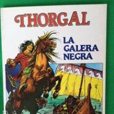 Cómics: THORGAL Nº 2 LA GALERA NEGRA DE ROSINSKI/VAN HAMME - DISTRONOVEL S.A.. Lote 147694986
