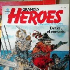 Cómics: GRANDES HEROES 12 DRAKE EL CORSARIO. Lote 147704706