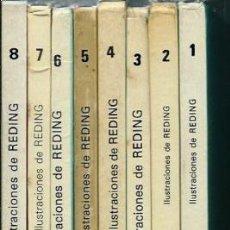Cómics: ERIC CASTEL - LOTE DE ALBUMES Nº 1 2 3 4 5 6 7 Y 8 - JUNIOR AÑOS 80 - EN BUEN ESTADO. Lote 147725398