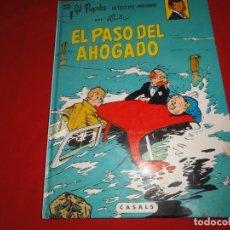 Cómics: GIL PUPILA. Nº 3. EL PASO DEL AHOGADO. ED. CASALS . C-31. Lote 147767506