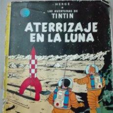 Cómics: LAS AVENTURAS DE TINTÍN ATERRIZAJE EN LA LUNA EDITORIAL JUVENTUD TAPAS DURAS. Lote 147812542
