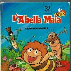 Cómics: L' ABELLA MAIA TROBA NOUS AMICS - JAIMES I PAM 1978 - COL·LECCIÓ L' OCELL DE PAPER Nº 32 - BÉ. Lote 147904018