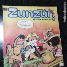 Cómics: CUBA. ZUNZÚN. Nº 102. MARZO, 1991.. Lote 148092726