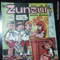 Cómics: CUBA. ZUNZÚN. Nº 108. SEPTIEMBRE, 1991.. Lote 148092778
