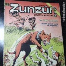 Cómics: CUBA. ZUNZÚN. Nº 103. ABRIL, 1991.. Lote 148092830