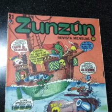 Cómics: CUBA. ZUNZÚN. Nº 21. 1983.. Lote 148093534