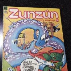 Cómics: CUBA. ZUNZÚN. Nº 40. 1984.. Lote 148093654