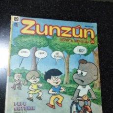 Cómics: CUBA. ZUNZÚN. Nº 89. MAYO, 1989.. Lote 148094462