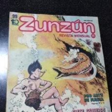 Cómics: CUBA. ZUNZÚN. Nº 99. JUNIO, 1990.. Lote 148094662