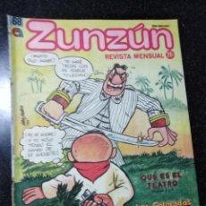 Cómics: CUBA. ZUNZÚN. Nº 68. JUNIO, 1987.. Lote 148218474