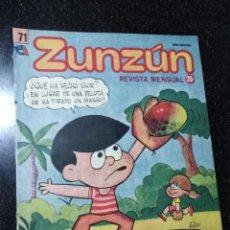 Cómics: CUBA. ZUNZÚN. Nº 71. SEPTIEMBRE, 1987.. Lote 148218622