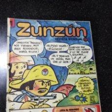 Cómics: CUBA. ZUNZÚN. Nº 1. AÑO 1. OCTUBRE 1980.. Lote 148219450