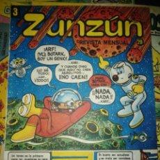 Cómics: CUBA. ZUNZÚN. Nº 3. DICIEMBRE 1980.. Lote 148219514